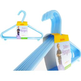 24 Units of 10 Pc Kids Hanger Blue - Hangers