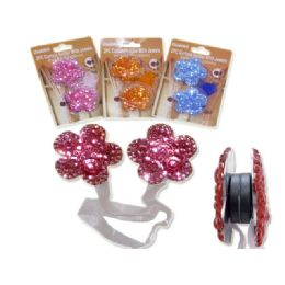 """144 Units of Curtain Holder W/jewels12.6"""" Long Lue,pink,orange Clr - Window Curtains"""