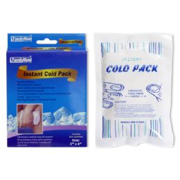 "72 Units of INSTANT COOL PACK 5X6"" - Cooler & Lunch Bags"