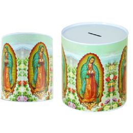 48 Units of Coin Bank, Saving Tin, Guadalupe, - Coin Holders & Banks