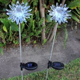 24 Units of Solar Light-Sunflower - Garden Decor