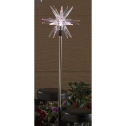 24 Units of Solar Light-Starburst - Garden Decor