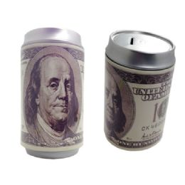 72 Units of Saving Bank Tin Us 100 Dollaronly - Coin Holders & Banks