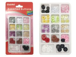 144 Units of Button Set W/display Box - Sewing Supplies