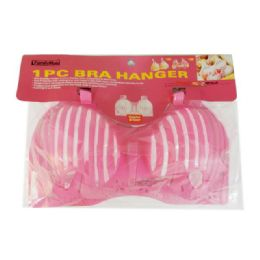 96 Units of Bra Hanger 1pc Pink Color - Hangers
