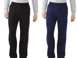 Men's Fruit Of The Loom Sweatpants, Size Medium - Samples