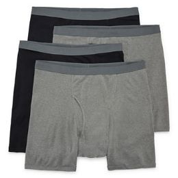 Men's Fruit Of The Loom Boxer Brief (mid Rise), Size M - Samples