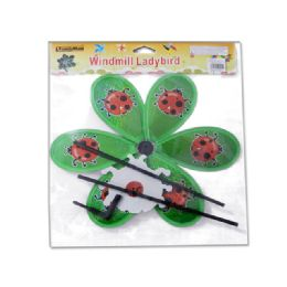96 Units of WINDMILL W/ LADYBIRD DESIGN - Wind Spinners