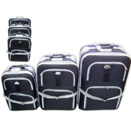 24 Units of Luggage 3 In 1 Black - Travel & Luggage Items