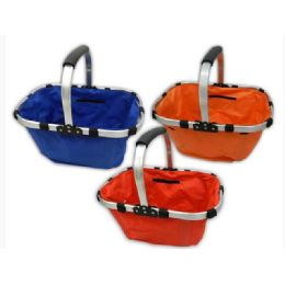 24 Units of Folded Basket 3asst 44x28.5x22 - Baskets