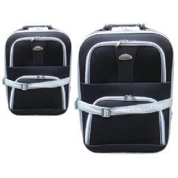 24 Units of Luggage 1pc Small Black - Travel & Luggage Items