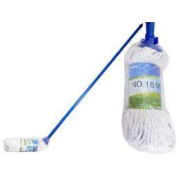 72 Units of Mop #16 300 Gm 1.2m Handleopp+wl - Cleaning Products