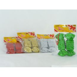 144 Units of Xmas Candy 2 Piece Set - Christmas Novelties