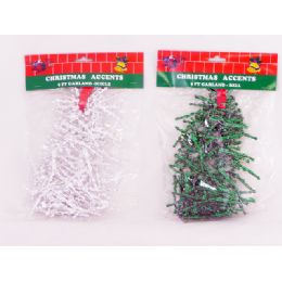 144 Units of Garland Icicle 9' - Christmas Ornament