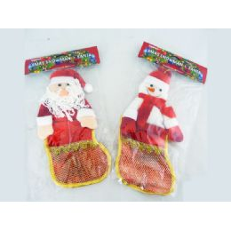 96 Units of Xms Snow Men+santa 11x29cm - Christmas Novelties