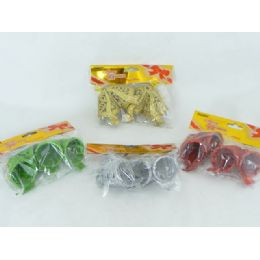 96 Units of Mixed Bell 2 Piece Set - Christmas Novelties