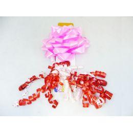 96 Units of Par Bow+ribbon 2pcs - Christmas Decorations