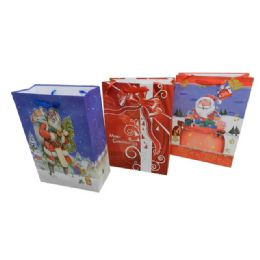 144 Units of Christmas XL Sized Gift Bag - Christmas Gift Bags and Boxes