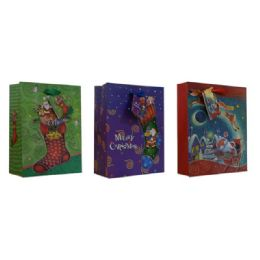 108 Units of Christmas Xxl Sized Gift Bag - Christmas Gift Bags and Boxes