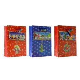 96 Units of Christmas Xxl Sized Gift Bag - Christmas Gift Bags and Boxes