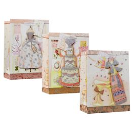 96 Units of Gift Bag Large Size Assorted Design - Christmas Gift Bags and Boxes