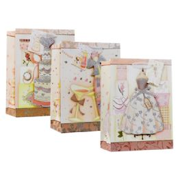 144 Units of Gift Bag Xlarge Size Assorted Design - Gift Bags Assorted
