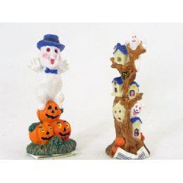 144 Units of HALLWN FIGURNS COLLECTIBLESASST - Halloween & Thanksgiving
