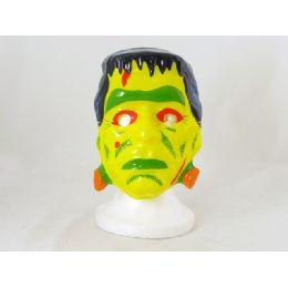 144 Units of Halloween Mask Pvc 12 Assorted - Halloween & Thanksgiving