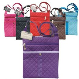 48 Units of Fashion Shoulder Bag Quilt - Shoulder Bags & Messenger Bags