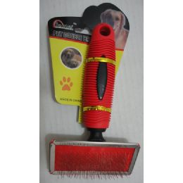 48 Units of Fine Wire Pet Brush - Pet Grooming Supplies