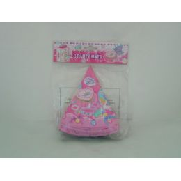 108 Units of PARTY HAT 8PCS - Party Favors