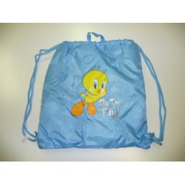 72 Units of LICENSED  TWEETY SLING BAG - Licensed Backpacks