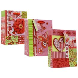 108 Units of BAG  LOVE 3D 3ASST - Valentines