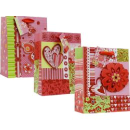 96 Units of BAG L LOVE 3D  3ASST - Valentines