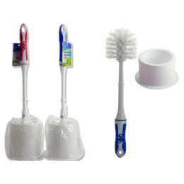 48 Units of Toilet Brush With Holder - Toilet Brush