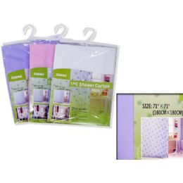 72 Units of SHOWER CURTAIN - Shower Curtain