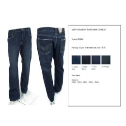 12 Units of Mens Fashion Jeans 100% Cotton - Mens Jeans