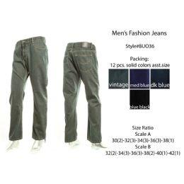 12 Units of Mens Fashion Jeans - Mens Jeans