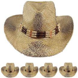 12 Units of Western Cowboy Hat One Color - Cowboy & Boonie Hat