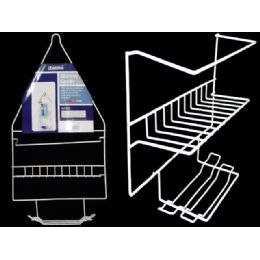 72 Units of Shower Caddy White - Shower Accessories