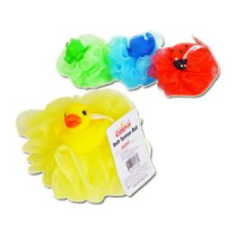 96 Units of Animal Bath Sponge Ball - Loofahs & Scrubbers