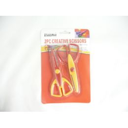 96 Units of SCISSORS CREATIVE 2PC - Scissors