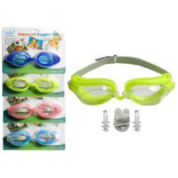 288 Units of Swim Goggles + Nose Plug + Ear Plugs - Summer Toys