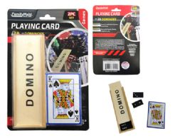 72 Units of Playing Card 2pcs + Dominoes - Card Games