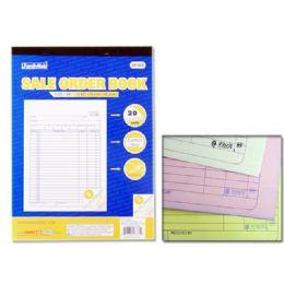 72 Units of SALE ORDER BOOK 3PK/SET 20SET - Sales Order Book