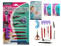 144 Units of 12 Piece Manicure Set - Manicure and Pedicure Items