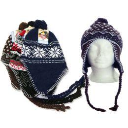 144 Units of Hat Winter Men Large Asst Clr - Winter Hats