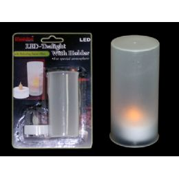 72 Units of Led Tealight With Holder - Candles & Accessories