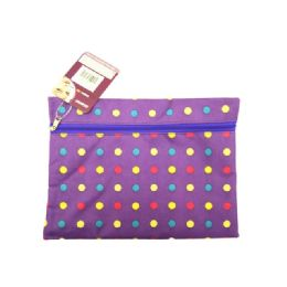 72 Units of Cosmetic Bag Polka Dot - Cosmetic Cases