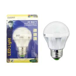 72 Units of Led Light 3w 8.4h*4.97dia - Lightbulbs